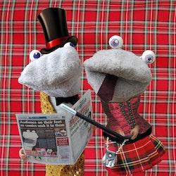 Scottish Falsetto Socks: Roll Up!