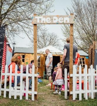 Children's Area: The Den