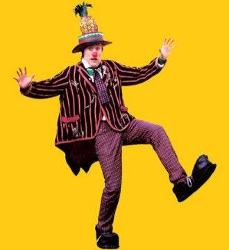 Image result for Mr Pineapple head brighton fringe