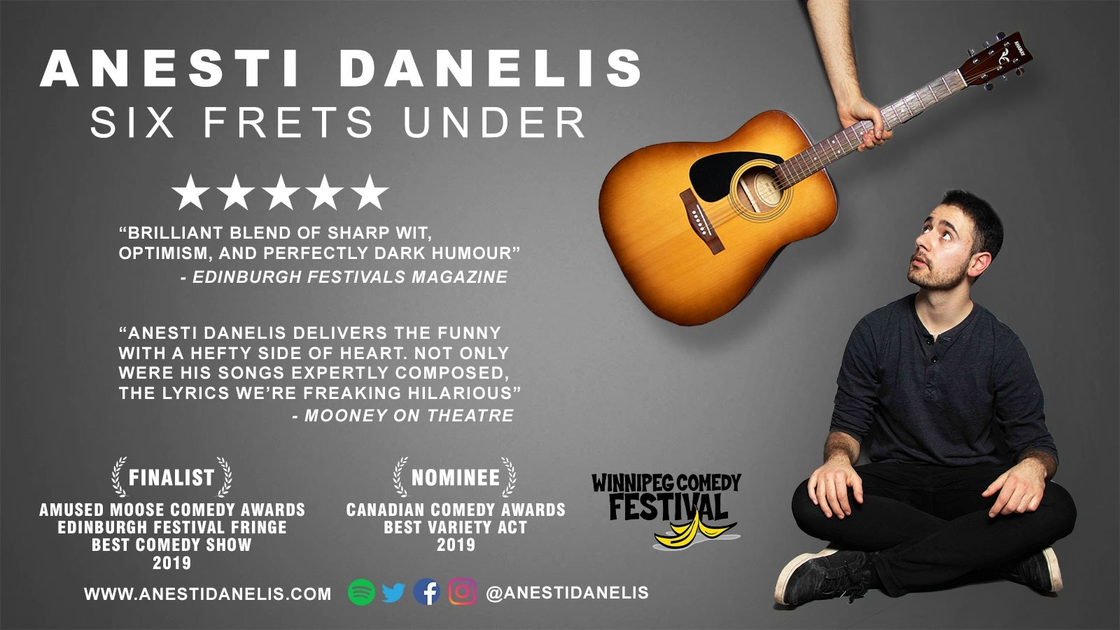 Anesti Danelis: Six Frets Under