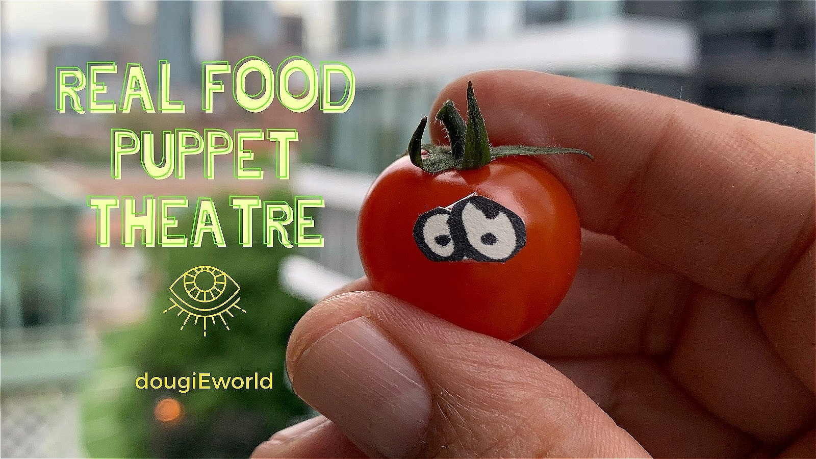 dougiEworld Real Food Puppet Theatre