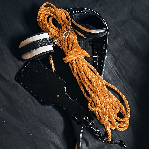 Cuffs, Stockings and Two Smokin' Barrels