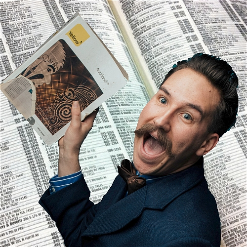 Jason Henderson Reads The Telephone Book