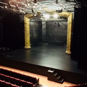 View of mainstage and proscenium arch