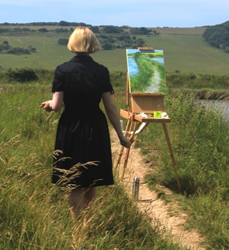 Pathways Through the South Downs: An Exhibition of Landscape Paintings by Eva Peel